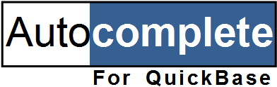 Autocomplete for QuickBase